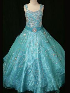 2015 Ball Gown Sweetheart Sleeveless Floor Length Organza Sky Bule Beaded Pleated Long Flower Girls Pageant Dresses Girls Gown - http://www.aliexpress.com/item/2015-Ball-Gown-Sweetheart-Sleeveless-Floor-Length-Organza-Sky-Bule-Beaded-Pleated-Long-Flower-Girls-Pageant-Dresses-Girls-Gown/1957480288.html