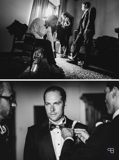 Handsome groom getting ready for his wedding. Photo: Roland Michels