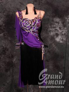 GA オーダードレス・紫&黒