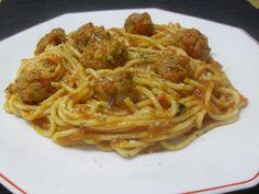 Paprika En La Cocina: Espaguetis con albóndigas