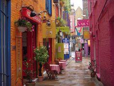 Neal's Yard : London, United Kingdom