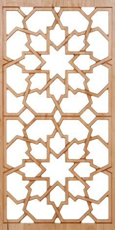 Moroccan style pattern can be incorporated in all forms; carved and painted wood, mosaic tile (zellige) and carved plaster, for that one of a kind interior design element. Moroccan Pattern, Moroccan Design, Moroccan Decor, Moroccan Style, Moroccan Stencil, Moroccan Bedroom, Arabic Pattern, Pattern Art, Motif Arabesque