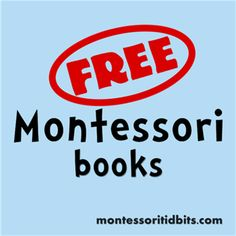 free Montessori books