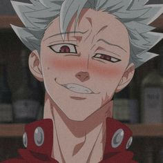 Chica Anime Manga, Otaku Anime, Kawaii Anime, Anime Art, Seven Deadly Sins Anime, 7 Deadly Sins, Cute Anime Boy, Anime Guys, Ban Anime