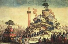 "La fete de l'etre supreme - Robespierre's ""Supreme Being""."