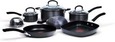 Jamie Oliver by T-fal C942SA64 Nonstick Hard Anodized Thermo-Spot Heat Indicator 10-Piece Cookware Set, Black at http://suliaszone.com/jamie-oliver-by-t-fal-c942sa64-nonstick-hard-anodized-thermo-spot-heat-indicator-10-piece-cookware-set-black/