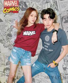 Lee Sung Kyung and Nam Joo Hyuk - Nylon Magazine April Issue '16