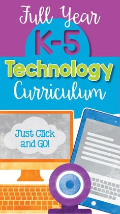 Over 100 lessons and activities for grades K-5 that will make a great addition to your technology curriculum. These lesson plans and activities will save you so much time coming up with what to do during your computer lab time. Ideal for a technology teac