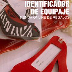 #regalos #zapato #identificador #equipaje