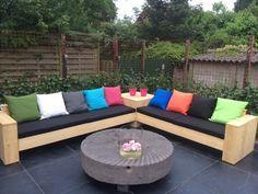 Waterafstotende tuinkussens voor in de loungebank! Diverse kleuren en soorten