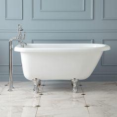 Bennington Acrylic Clawfoot Tub