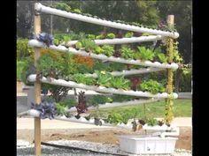 DIY Hydroponic Garden Tower - The ULTIMATE hydroponic system growing over 100 plants in 10 sq feet Hydroponic Grow Systems, Aquaponics Diy, Hydroponics System, Hydroponic Gardening, Organic Gardening, Container Gardening, Vegetable Gardening, Aquaponics Greenhouse, Hydroponic Growing