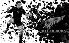 "All Blacks rugby - Captain Richie McCaw - ""HAKA quake"" poster created by Gordon Tunstall using Adobe Photoshop -2015"