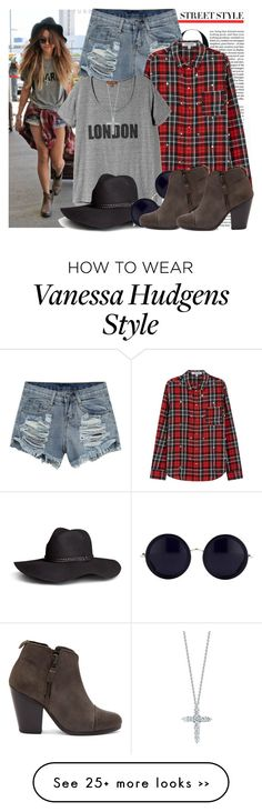 """""""Celebrity Style: Vanessa Hudgens"""" by prettyorchid22 on Polyvore"""