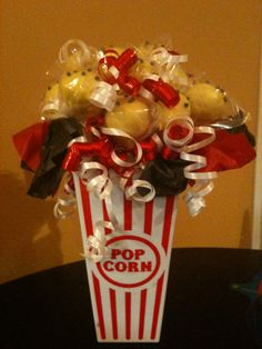 Candy Table Decoration Ideas Elegant Great to Use as A Centerpiece or Sweet Table Decor for A Movie Theater Party, Movie Night Party, Hollywood Decorations, Hollywood Theme, Candy Table Decorations, Party Centerpieces, Movie Themes, Party Themes, Party Ideas