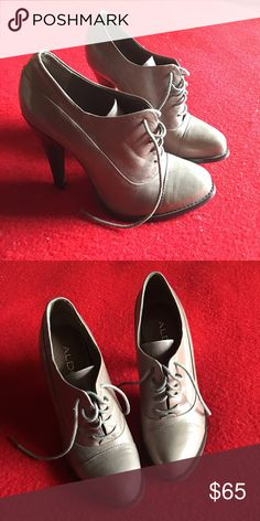 aldo laced heels true size 5.5 women's. super cute and adds flair to your outfit. Shoes Heels