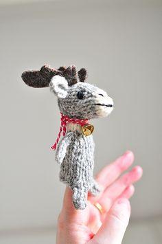 Ravelry: NaneR's Reindeer ❆ ❆ ❆ Free pattern. Adorable!