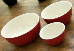 Bowl Size Best Birthday Gifts, Mixing Bowls, Stoneware, Best Gifts, Good Things, Ceramics, Tableware, Promotion, Red