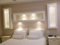 O gesso é muito elegante e bastante utilizado na decoração interna de residências