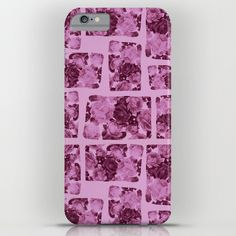floral patchwork iPhone & iPod Case