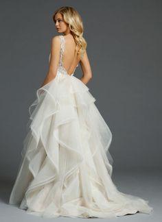Bridal Gowns, Wedding Dresses by Alvina Valenta - Style AV9450