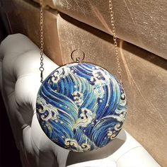 Treat yourself to our Round Clutch Bag for an elegant look. Find more fashion inspiration at Apollo Box! Fashion Handbags, Fashion Bags, Leather Accessories, Jewelry Accessories, Diaper Bag Backpack, Diaper Bags, Apollo Box, Bags Online Shopping, Cute Bags
