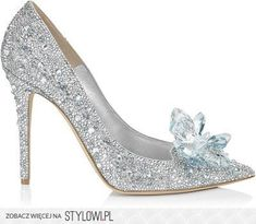 Jimmy Choo Cinderella Crystal Covered Pointy Toe Pump &… na Stylowi.pl