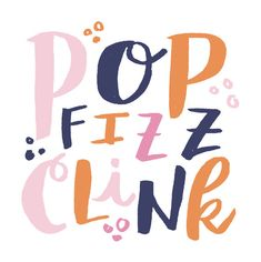 Pop Fizz Clink Coasters by alisawismer on Etsy