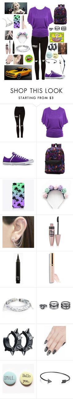 """""""Transformers OC"""" by foxydeadpool ❤ liked on Polyvore featuring Topshop, Converse, Vans, The Small Print., LOTTA, Otis Jaxon, Maybelline, West Coast Jewelry, LULUS and ncLA"""