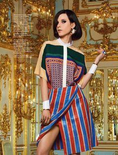 """Empire of Feelings"": Tatiana Cotliar by Jason Schmidt for Vogue Russia"
