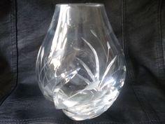 Nachtmann Fleurie / Frühling Vase , Kristall , Topzustand