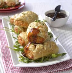 Homemade Spicy Chicken & Tomato Sausage Rolls recipe   All4Recipes