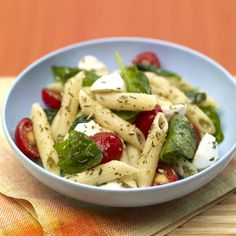 With a triple hit of antioxidants from the rosemary, thyme and oregano, this pasta salad is sure to stand out at a summer potluck.