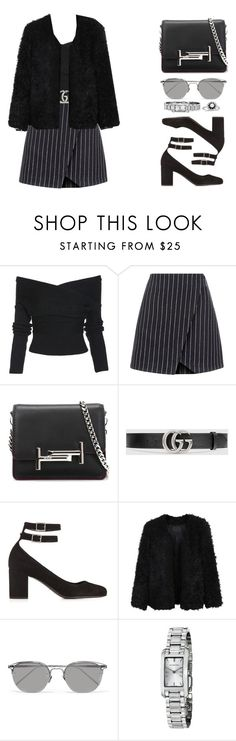 """But I've got high hopes"" by elliedella ❤ liked on Polyvore featuring New Look, Tod's, Gucci, Yves Saint Laurent, LE3NO, Linda Farrow, Burberry, StreetStyle and sundance"