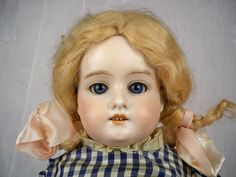 Armand Marseilles Spiral-threaded Eyes, #370, My Sweetheart Leather Body.
