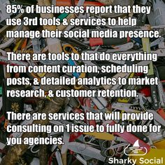 What tools do you use while running social media for your business? There are tons of tools and services to accomplish anything you could ever want to. Best Social Media Sites, Power Of Social Media, Market Research, Management Tips, Insight, How To Become, Tools, Running, Marketing