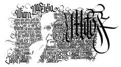 FaithHopeLove exhibition id & calligraffiti performance by Adam Romuald TheosonE Klodecki, via Behance