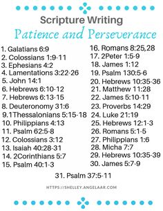 Participating in a scripture writing plan challenge can deepen and enrich your relationship with God. This plan is about Patience and Perseverance.
