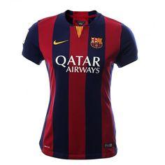 Las mujeres y el futbol se llevan muy bien, lleva en tu corazón el nuevo jersey del FC Barcelona.El tejido de malla Dri-FIT reciclado ofrece una comodidad inmejorable dentro y fuera del campo.