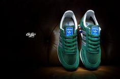 #adidaslatrainer #latrainer #suede #mesh #collegiategreen #green #silver #retro #pegs #oldsilos #sneakers #warszawa