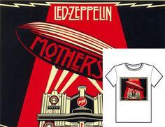 Código: #Zeppelin Talles: S M L XL // Colores: Blanco y Gris Claro // Precio: $490