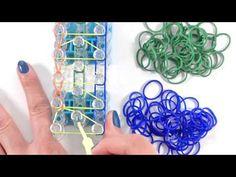 Métier Rainbow Loom : Comment faire un bracelet triple