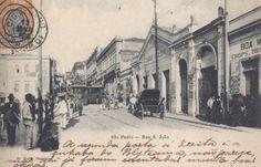 O Cassino Paulista, antes de se tornar Cine Bijou