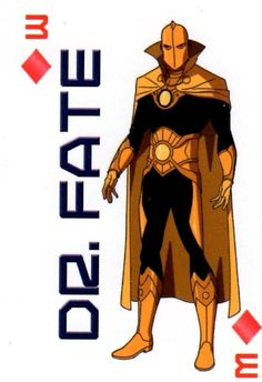 Kent Nelson: 3 of Diamonds - Dr Fate