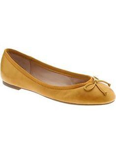 Banana Republic, Ashley Bow Ballet Flat. $98. One in each color please :)