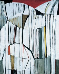 Terry Frost Red, Black and White 1955 oil and collage, 121 x cm Abstract Shapes, Abstract Art, Collages, Paintings I Love, Pastel Paintings, English Artists, Red Black, Black And White, Hobbies And Crafts