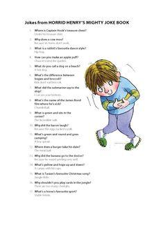 Horrid Henry's Favourite Jokes from Scholastic