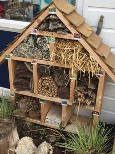 A personal favourite from my Etsy shop https://www.etsy.com/uk/listing/522139146/garden-bug-hotel-perfect-for-your-little
