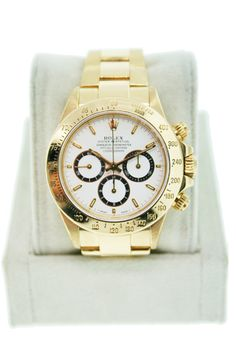 Rolex integrated El Primero Zenith movement to their Daytona Watch collection in 1991.