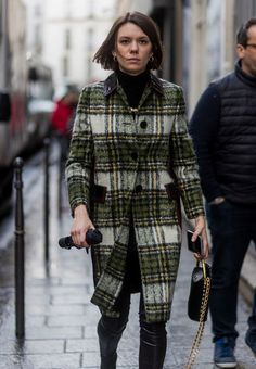 All the Best Street Style From Paris Fashion Week via @WhoWhatWear